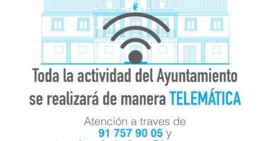 El Ayuntamiento de Las Rozas refuerza  la atención al ciudadano  por vía telemática: