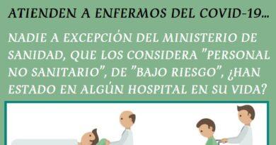 Celadores ante el COVID-19: personal sanitario de alto riesgo
