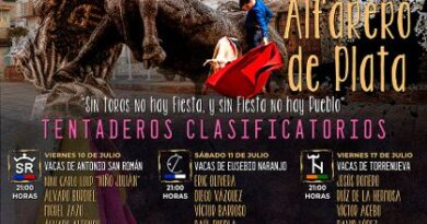 Comienza el certamen de novilleros Alfarero de Plata de Villaseca de la Sagra
