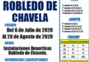 Robledo de Chavela  ha puesto en marcha el Campus Multideporte