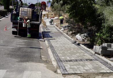 El Ayuntamiento de Las Rozas mejorará los accesos del C.E.I.P. Mario Vargas Llosa y el I.E.S. Carmen Conde este verano