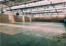 El Ayuntamiento de El Escorial  sustituye el suelo del pabellón deportivo