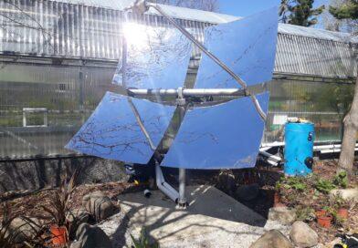 Pozuelo incorpora una novedosa parábola solar a su Circuito de Energías Renovables del Aula de Educación Ambiental