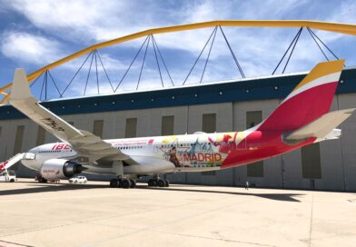 San Lorenzo de El Escorial será imagen turística de la Comunidad de Madrid en un Airbus de Iberia
