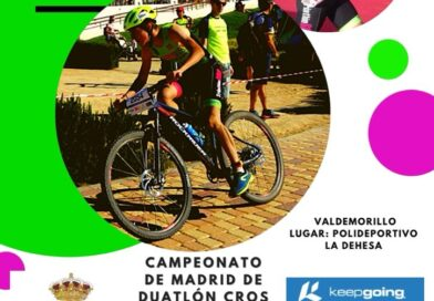 Valdemorillo acoge la edición del   Campeonato de Madrid de Duatlón Cros Escolar