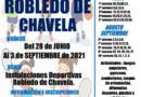Robledo de Chavela  organiza un intenso programa de cursos y campamentos deportivos para este verano