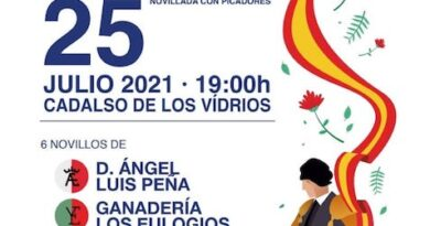 Este Domingo se celebrará la final del Circuito de novilladas de Madrid en Cadalso de los Vidrios