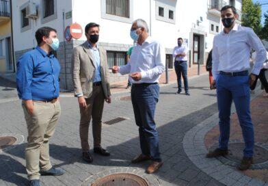 El Gobierno regional felicita al Ayuntamiento de Valdemorillo  por sacar adelante el proyecto del casco histórico de la ciudad